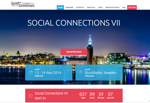 Social Connections screenshot 600px